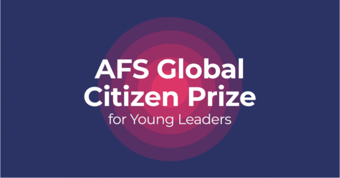 AFS Global Citizen Prize for Young Leaders